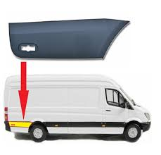 Mercedes Sprinter Side Light Bulb Mercedes Sprinter Lwb Plastic Protective Side Moulding Strip Trim Right Passenger Side 2007 To 2016