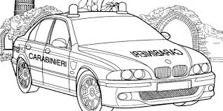 Small Picture Police Car Coloring Pages