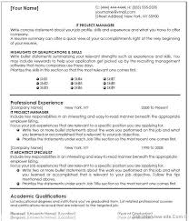 Gallery Of Free 40 Top Professional Resume Templates Project