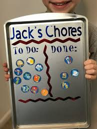 Cork Board Chore Chart 19 Creative Diy Chore Charts That Really Work Shelterness