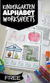 Worksheet for (very) young learners who have just started reading. Free Printable Alphabet Worksheets