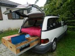 and easy diy mini van camper conversion 19