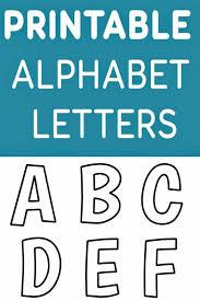Printable Letter Templates Free Printable Alphabet Templates And Other Printable Letters