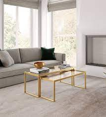 travon coffee table seat of 2 in