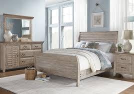 Nantucket Breeze Bisque 5 Pc Queen Sleigh Bedroom - Queen Bedroom ...