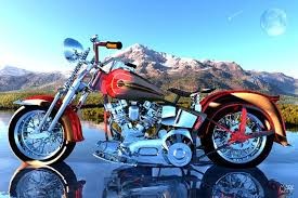 custom paint motorcycle