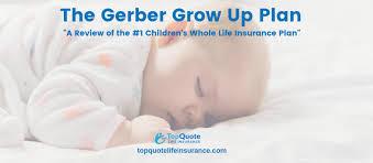 Gerber Growth Chart 2019 Gerber Grow Up Plan Childrens Whole Life Insurance Review