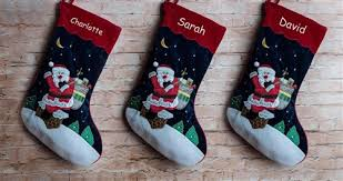 Personalised Velvet Christmas Stockings UK | Christmas Stockings ...
