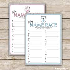 Free Printable Safari Baby Shower GamesBaby Name Games For Baby Shower