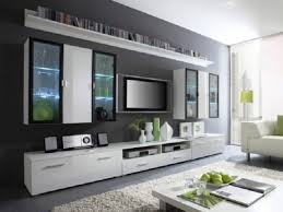 Small Picture Modren Living Room With Tv On Wall 18 Chic And Modern Mount Ideas