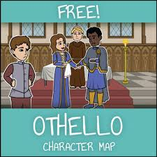 Othello Character Chart Worksheet Answers Free Othello Character Map Worksheet