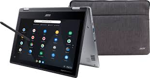 "Acer Spin 11 <b>2-in-1</b> 11.6"" Touch-<b>Screen</b> Chromebook Intel Celeron ..."