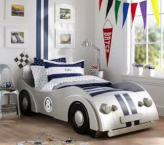 twin car bed for roadster pottery barn kids 14