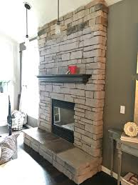 fireplace paint red brick colors mantel black home depot