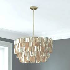 capiz chandelier gold round chandelier gold west elm lighting white shell lamp refer to chandelier west