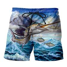 2019 <b>PLstar Cosmos 2019 Summer</b> Mens Casual Fish Shorts Big ...