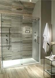 prefab shower pan tile walls