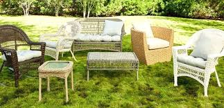 assorted wicker patio furniture with cushions set cushion covers pillows