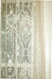 vintage lace curtain panels sensational curtains love home design ideas