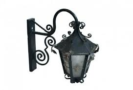 french outdoor lighting. Fleur-de-lis French Outdoor Lanterns, Pair. « Lighting