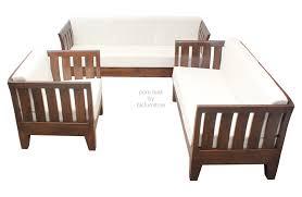 teak wood sofa modular kitchen furniture simple ideas