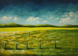 Simple Painting Simple Landscape Paintings On Behance