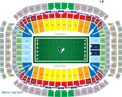 Reliant Seating Chart Football Nrg Stadium Houston Tx In 2019 Dallas Cowboys Tickets