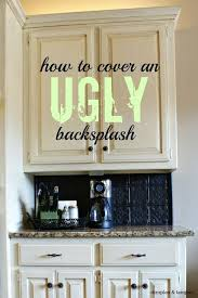 hide ugly bathroom floor. dimples and tangles: how to cover an ugly kitchen backsplash {way back wednesdays} hide bathroom floor