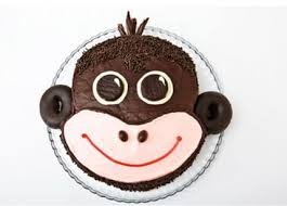 Monkey Birthday Cake Design Parenting