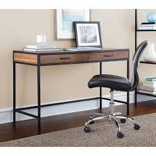 walmart home office desk. Classic Design Mainstays Metro Home Office Desk With Two Drawers Warm Ash Finish Walmart O