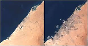Dubai Before And After Watch Nasa Images Show How Much Dubai Has Changed Dubai Ofw