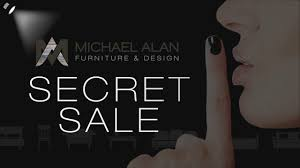 Michael Alan Furniture & Design Secret Saturday BOGO Sale