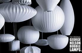George nelson lamps Nelson Bubble All Original Brand New Bubble Lamps Pinterest Home And Outdoor Lighting Lighting Fixtures Louie Lighting