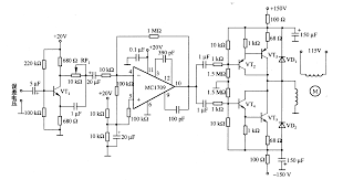 the control circuit of two phase servo motor control circuit the control circuit of two phase servo motor