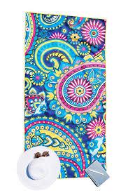 Designer beach towels Surfer Beach Microfiber Beach Towel For Travel Quick Dry Sand Free Travel Beach Towel In Designer Paisley Tropical Boho Beach Towel Prints For Beach Travel Amazoncom Amazoncom Microfiber Beach Towel For Travel Quick Dry Sand