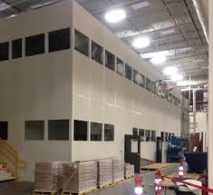 warehouse mezzanine modular office. Modular In Plant Office Warehouse Mezzanine N