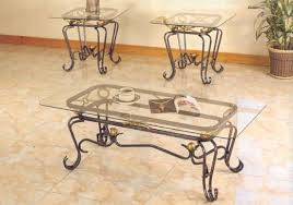 wrought iron glass coffee table luxury black wrought iron coffee table with glass top occasional