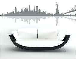 new york wall decal sticker new skyline wall art stickers custom designs new skyline wall art on new york skyline wall art stickers with new york wall decal sticker new skyline wall art stickers custom