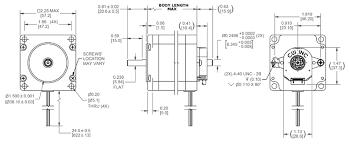 Stepper Motor Size Chart Nema 23 Stepper Motor Datasheet Specs Applications