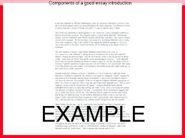 good introduction for an essay good intros for essays good  good introduction
