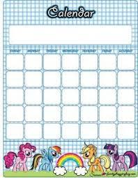 Free Printable My Little Pony Calendars My Little Pony