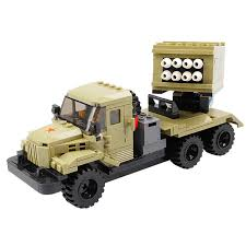 China 14898404-Military Car <b>Model</b> Educational <b>Building Blocks</b> ...