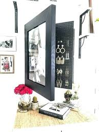 wall mounted organizer curtain cute wall mounted jewelry organizer mount photo frame by on organizers hanging wall mounted organizer