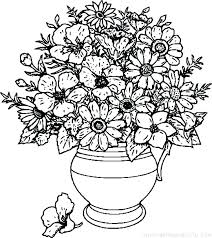 Printable Coloring Pages Of Flowers And Butterflies Coloring Free Coloring Pages Flowers And Butterflies Pretty