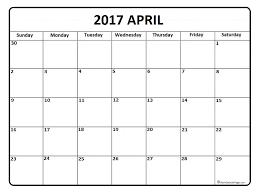 april calendar april 2017 calendar april 2017 calendar printable