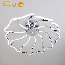 Купить потолочный <b>светильник Eurosvet</b> Begonia <b>90095/10 хром</b> ...