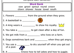 Phonics phase 5 homework or lesson worksheets. 2nd Grade Phonics Worksheets Free Printables Education Com