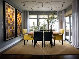 room lighting ideas modern lamps lighting dining gray dining room with yellow accents this contemporary dining casual dining room lighting