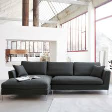 living room sofa ideas:  living room black furniture ergonomic big grey sectional sofa design overlooking living room sets for