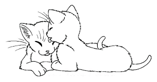 Cat Coloring Pages Printable Cat Coloring Pages Printable Also Fat